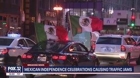 Mexican Independence Day celebrations create heavy traffic, road closures in downtown Chicago