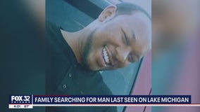 Calumet City family desperate for answers after man goes missing on Lake Michigan