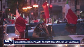 City officials announce downtown road closures as Mexican Independence Day celebrations continue