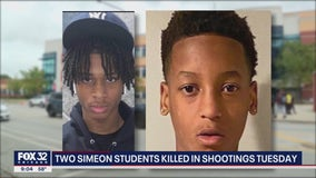 2 Chicago high school students killed in shootings hours apart