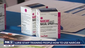 Chicago hospital training people to use Narcan to help prevent overdose deaths