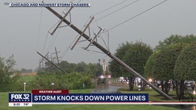 Strong storms leave behind damage in Minooka