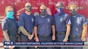 More Chicago area firefighters head to Louisiana to assist after Hurricane Ida