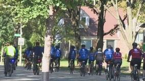 Illinois veterans take part in bicycle ride to raise PTSD awareness
