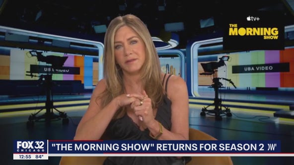 Jennifer Aniston, Reese Witherspoon talk Season 2 of 'The Morning Show'