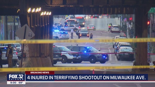 Chicago crime: 5 wounded in terrifying shootout in Fulton River District