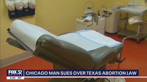 Chicago man sues over Texas abortion law