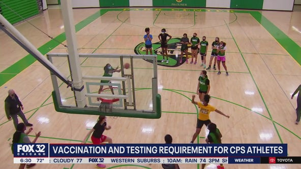 New COVID testing, vaccination rules take effect Monday for CPS student-athletes