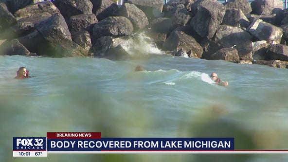 Body found in Lake Michigan in search for missing swimmer off Evanston