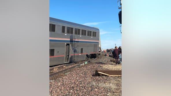 Derailed Amtrak train was going just under speed limit, officials say