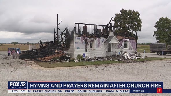 St. Paul Lutheran Church holds Sunday services one week after building burned down