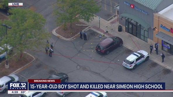 15-year-old boy fatally shot near Chicago's Simeon High School