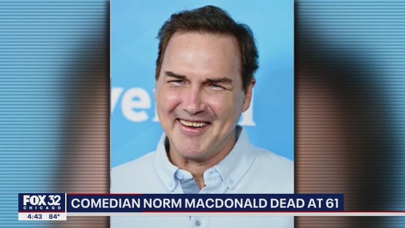 Tributes pour in for comedian and actor Norm Macdonald, dead at 61