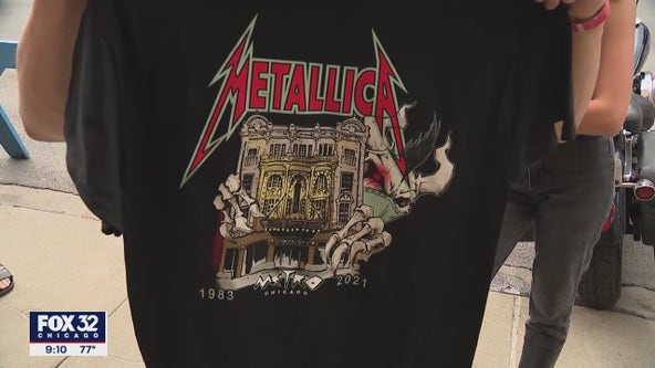 Metallica performs surprise concert at Metro in Chicago