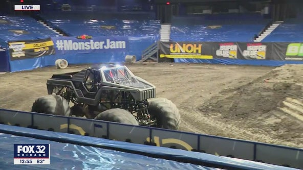 Monster Jam returns to Allstate Arena this weekend
