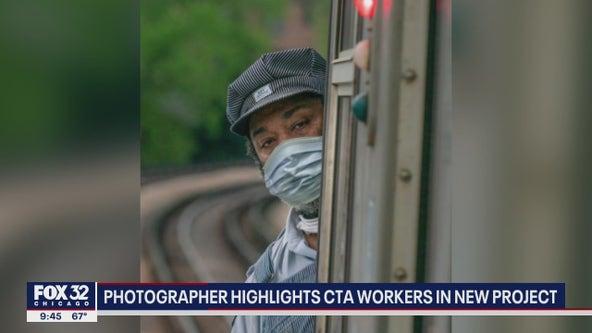 'Familiar Faces': Chicago photographer unveils project that salutes CTA workers