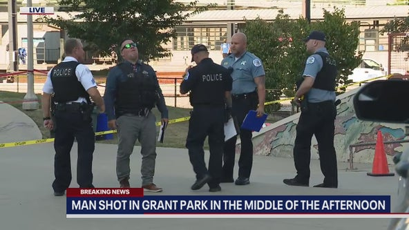 Man in critical condition after being shot at skate park in Grant Park