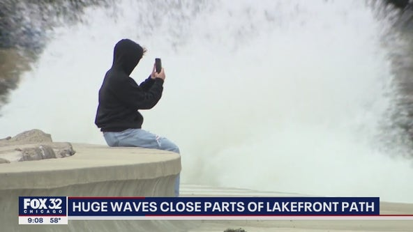Strong gusts could bring waves as high as 20 feet to Lake Michigan