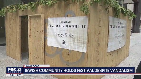 Chicago Jewish Community moves forward with Sukkot celebrations despite vandalism