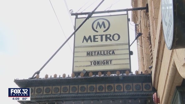 Metallica to perform surprise concert at Metro in Chicago on Monday night
