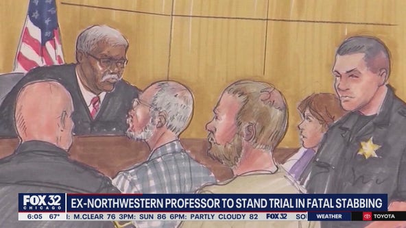 Ex-Northwestern professor to stand trial in fatal stabbing stemming from 'sexual fantasy'