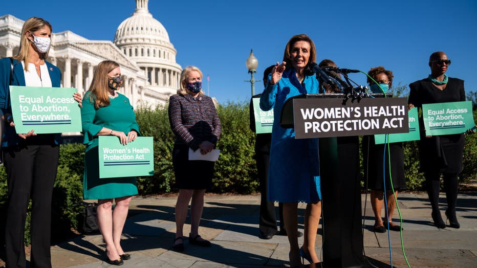 House Will Vote On A Bill Meant To Counter Texas-Style Abortion Bans
