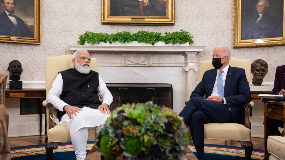 President Biden Holds Bilateral Meeting With Indian Prime Minister Narendra Modi