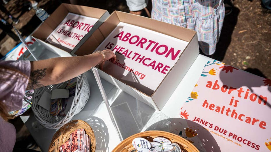 TX abortion ban protest