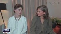 Timothee Chalamet, Zendaya talk highly anticipated 'Dune' premiere