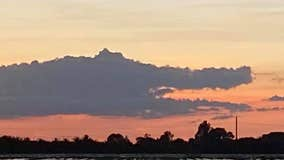 Florida woman spots alligator in clouds