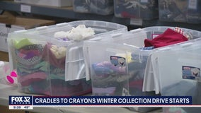 'Cradles to Crayons' winter collection drive begins