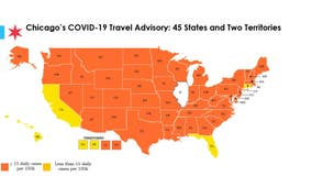 Florida, Hawaii and D.C. removed from Chicago's COVID-19 travel advisory