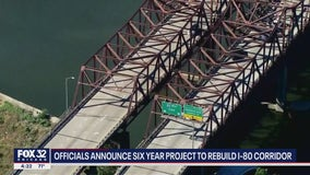 Billion dollar plan to rebuild I-80 expected to be finished in 2027