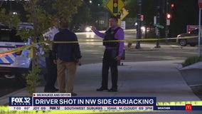 Driver shot after refusing to hand over keys in one of three carjackings overnight in Chicago