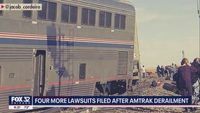 4 more lawsuits filed following deadly Amtrak derailment