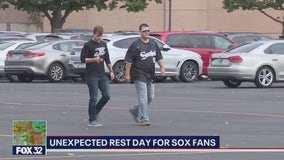 White Sox fans disappointed after game canceled due to rain
