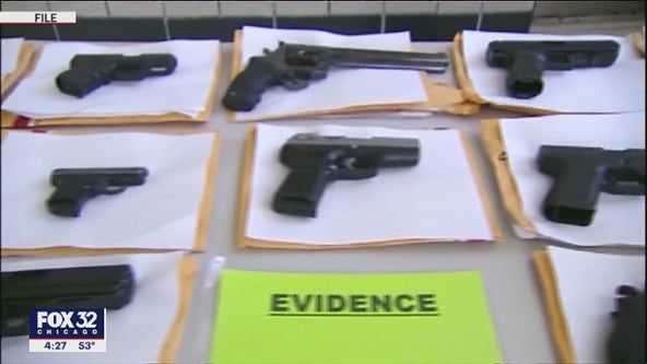 Chicago police have removed 10,000 guns from city streets this year