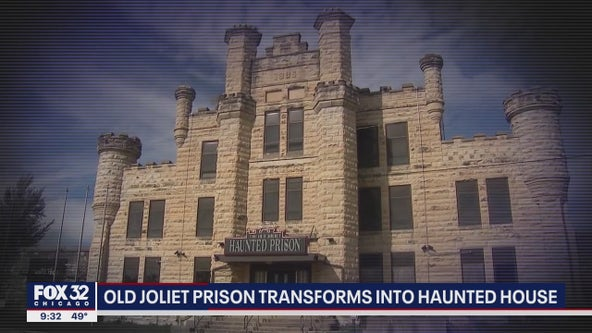 See inside the Old Joliet Prison, now transformed into a haunted house