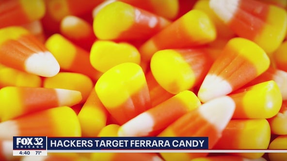 Chicago company that makes candy corn hacked just before Halloween