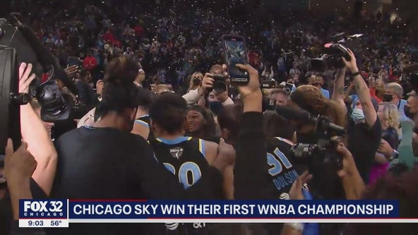 Chicago Sky fans on cloud nine after team wins WNBA championship