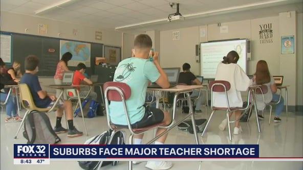Suburban schools grapple with teacher shortage