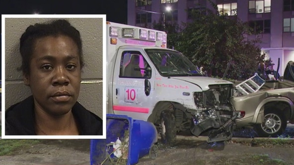 Woman charged with stealing Chicago ambulance, leading police on chase