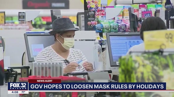 Pritzker aims to loosen COVID mask rules by holidays this year