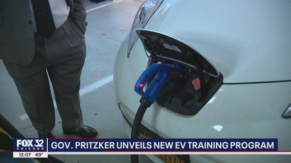 Pritzker unveils new electric vehicle training program