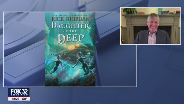 Rick Riordan talks 'Daughter of the Deep' ahead of Tuesday release