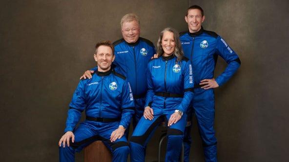 William Shatner's Blue Origin space launch prepares for liftoff