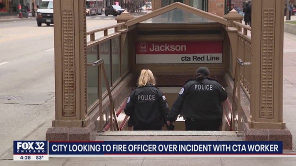 City looking to fire Chicago police sergeant over incident with CTA worker