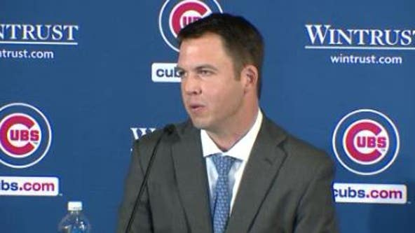Cubs new general manager Carter Hawkins talks about team's future and how to develop pitchers