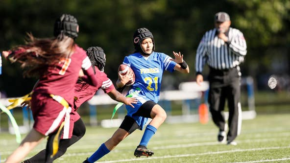 Back of the Yards beats Prosser 16-6 in inaugural Chicago Schools girls flag football championship