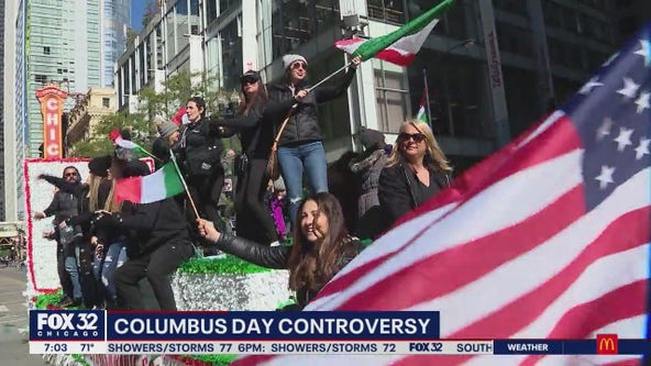 Columbus Day celebrations, protests prompt discord among Chicagoans